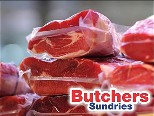 100 x Vacuum Pouches 300x350 Industrial Chamber VAC Bags/VAC Pouches! Butchers-Sundries