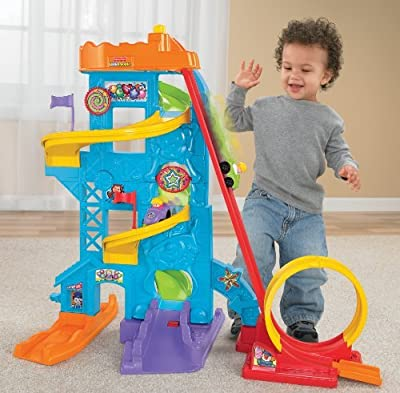 Fisher-price Wheelies Loops N Swoops Amusement Park from Fisher-Price