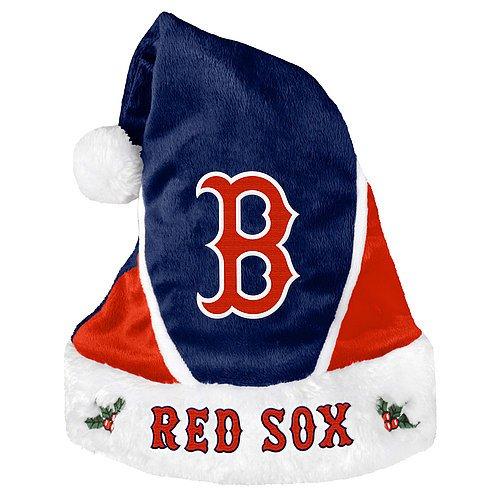 Boston Red Sox Santa Hat - Colorblock 2014 - Licensed MLB Baseball Merchandise