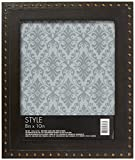 MAIN STREET DECOR MS11SABRZ-80P Frame Nail Bronze, 8 x 10, Black
