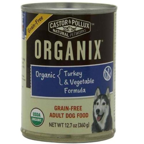 Organix GF Can Dog Food 12 Pack Turkey/Vegetable
