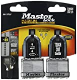 Master Lock M1XTLFHC 1-1/2'' Stainless Steel Long Shackle Magnum Padlock (2 Count)
