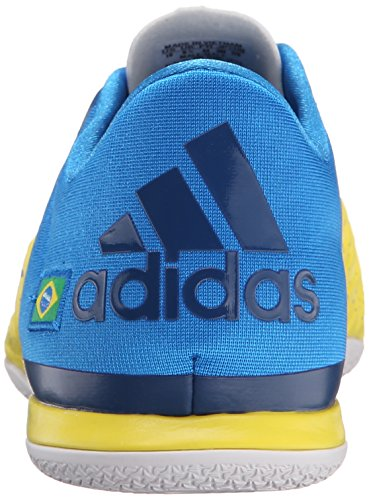 Adidas Performance Mens X 15.2 Ct Voetbalschoen Geel / Shock Blue / Equipment Blue