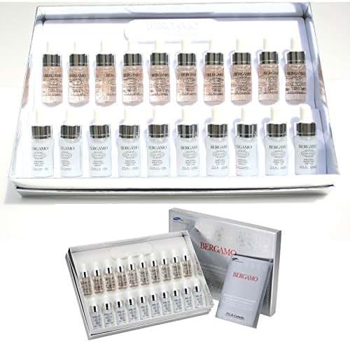 [Bergamo] Snow White Vita Whitening Perfection Ampoule Set (13ml *20ea) / Korean Cosmetics