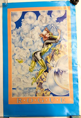 Rogue X-Men Marvel Vintage Poster 22 x 34 -