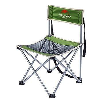 Ultraligero portátil plegable silla de camping sillas de playa con ...