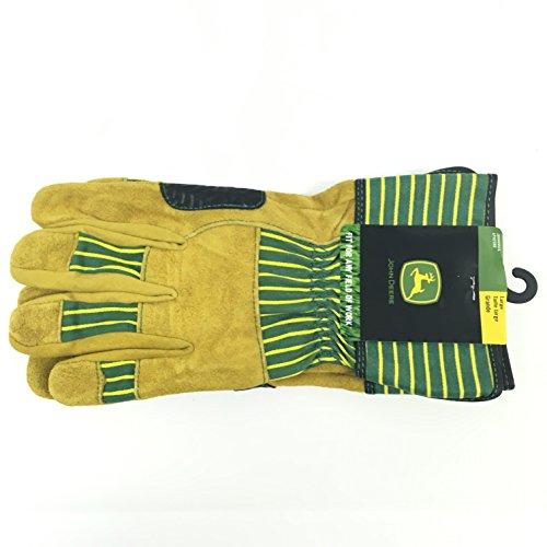 John Deere Cowhide Chore Glove- Large ()