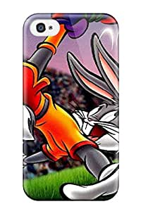 Top Quality Case Cover For Iphone 4/4s Case With Nice Bugs Bunny Appearance