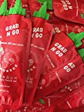 Grab N Go Original Sriracha HOT Chili Sauce, 50 packs, 7g each