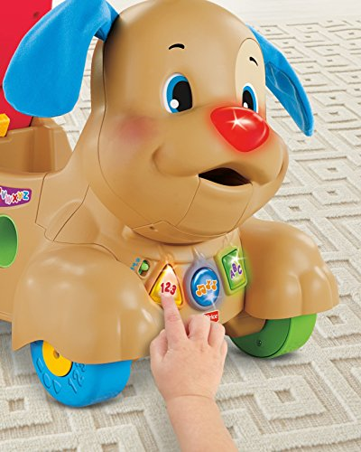 51suwFLmjSL - Fisher-Price Laugh & Learn Stride-to-Ride Puppy [Amazon Exclusive]