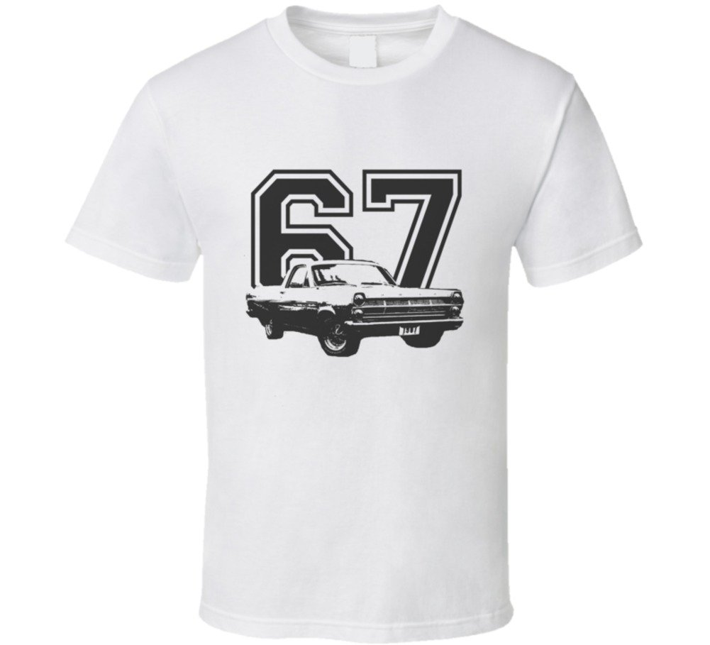Cargeektees Com 1967 Rano Side View Year Car Lover Gift Enthusiast T Shirt 6054