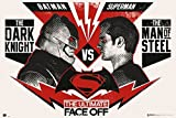 Grupo Erik editores Batman V Superman Poster Ultimate Face Off HFE
