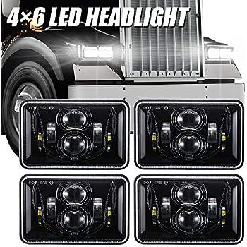 Ford Probe MK2 White 4-LED Xenon Bright ICE Side Light Beam Bulbs Pair Upgrade