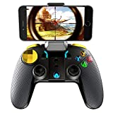 FociPow ipega Wireless Bluetooth Gamepad Joystick Multimedia Game Controller Compatible with iOS Android Phone Window PC