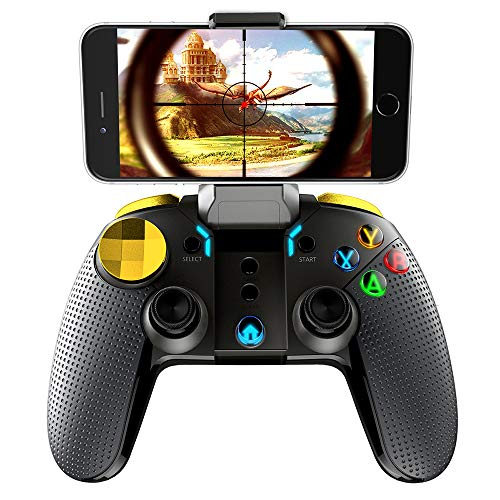 Bigaint FociPow ipega Wireless Bluetooth Gamepad Joystick Multimedia Game Controller Compatible with iOS Android Phone Window PC
