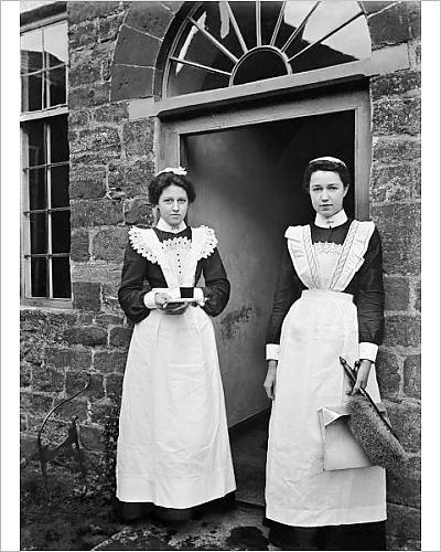 1960's Costumes Australia (Photographic Print of Maids BB98 06062)