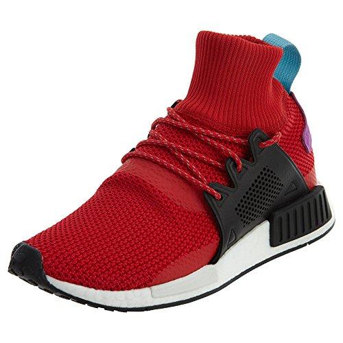 Adidas Originali Mens Nmd_xr1 Inverno Sneaker Scarlatto / Nero / Viola Shock