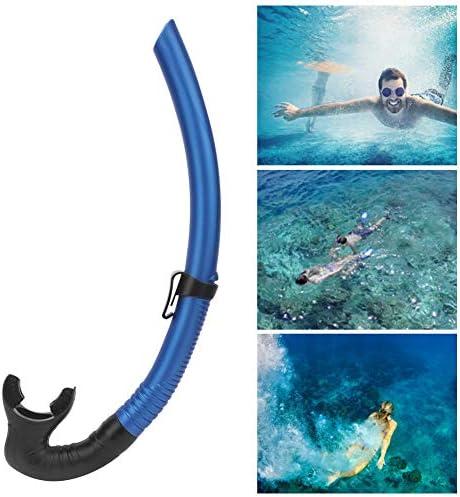 Ademslang Snorkel Om Te Zwemmen Duiken Snorkelen Natte Ademslang Onderwater Accessoires Blauw