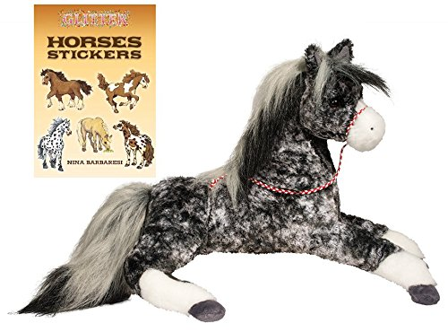 Bandit Costume For Dog (Bandit Black Dappled Horse 18