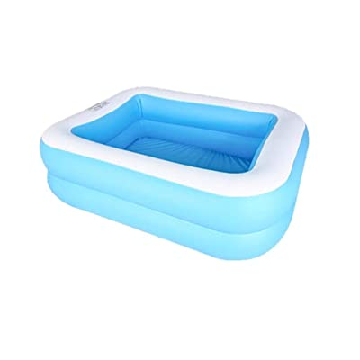 Unparalleled Inflatable Swimming Pools - Inflatable Kiddie Pools - Family Swimming Pool - Summer Water Party for Kids, Adults, Toddlers, Garden, Backyard (43.31x34.65x12.99in): Arts, Crafts & Sewing