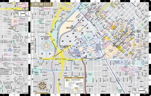 Streetwise Denver Map - Laminated City Center Street Map of Denver ...