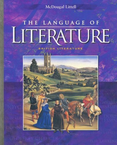 Download By Houghton Mifflin Harcourt - McDougal Littell Language of Literature: Student Edition Grade 12 2002: 1st (first) Edition PDF