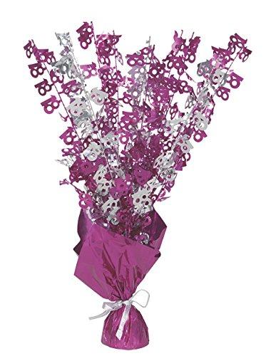 Unique Party 56475 - Glitz Pink 18th Birthday Balloon Weight Centrepiece]()