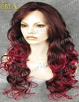 venta caliente populares peluca de encaje mano de encaje atado peluca del frente a la venta