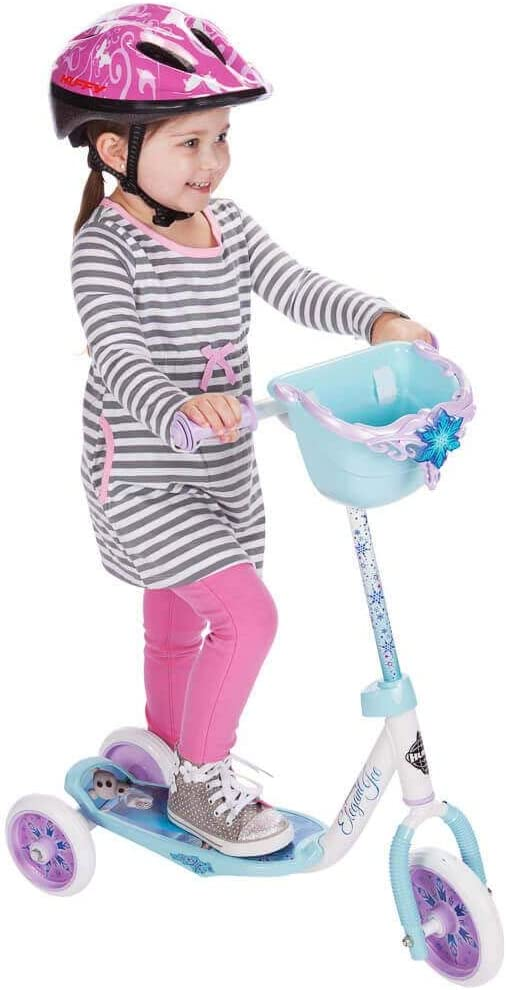 Amazon.com: Huffy Disney Frozen - Patinete con 3 ruedas ...