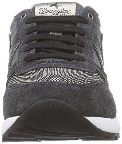 Wrangler Sunday - zapatilla deportiva de piel hombre gris - Grau (96 Anthracite)