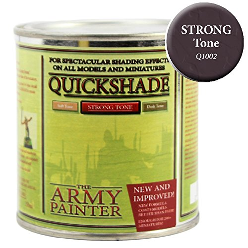 - The Army Painter Quickshade Miniature Varnish for Miniature Painting, Strong Tone (250 ml)