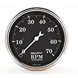 Auto Meter 1798 Old TYME Black Electric Tachometer