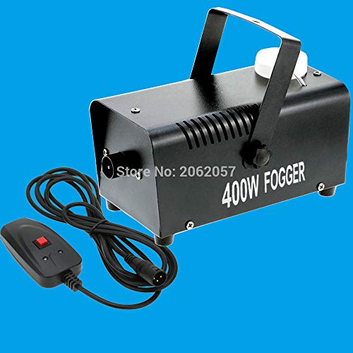 (Haga Smoke Machine mini 400W Wire control smoke machine 3m wire fog machine machine for wedding party stage Lampblack)