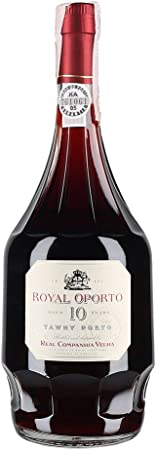 Vino de Oporto Real Companhia Velha 10 años - Vino Fortificado - 750 ml