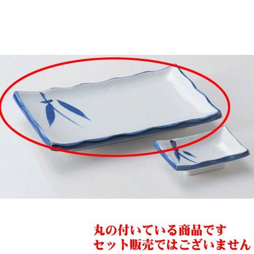 Japanece ceramic Grain bamboo 6.0 length angle dish tableware Grilled Fish Plate utw157-26-714 6.7 x 4.6 x 1 inch