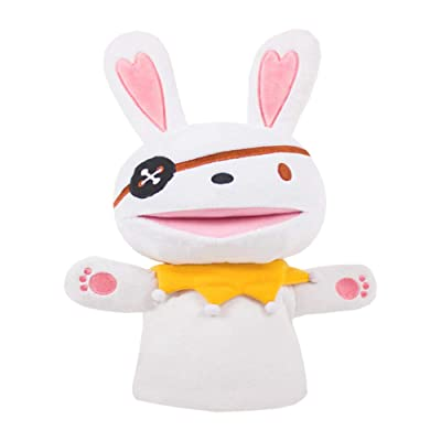 UNIKbrush Hand Puppets Stuffed Soft Toy Cute Anime Cartoon Cosplay Props Decor Collectible Plush Toy for Girls Boys Kids: Home & Kitchen