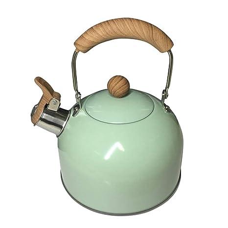 OLT Teteras para fogón 2 litros de Acero Inoxidable Tetera ...
