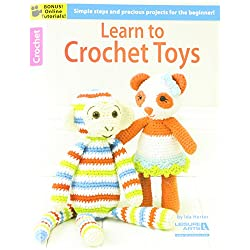 LEISURE ARTS LEA6188 Learn to Crochet Toys Bk