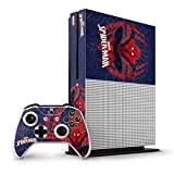 Marvel Spider-Man Xbox One S Vertical Bundle Skin - Spider-Man Web Vinyl Decal Skin For Your Xbox One S Vertical Bundle