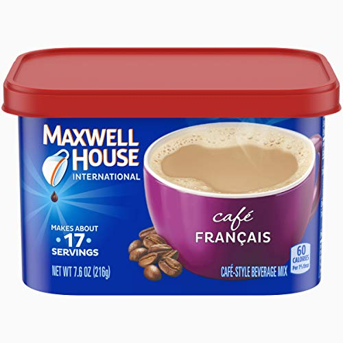 (Maxwell House International Cafe Francais Style Instant Coffee (7.6 oz Canister))