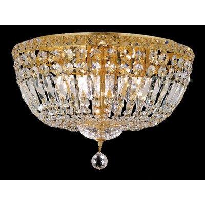 Elegant Lighting Tranquil 11-Inch High 8-Light Chandelier
