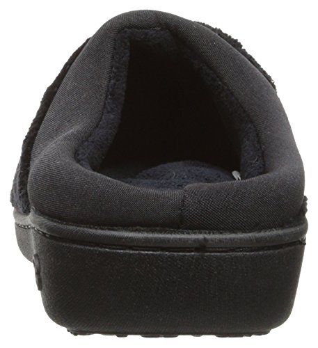Microterry Classic Hoodback Slippers Black Women's Isotoner qS5cWEgf