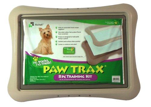 Richell Paw Trax 8-Piece Puppy Training Kit