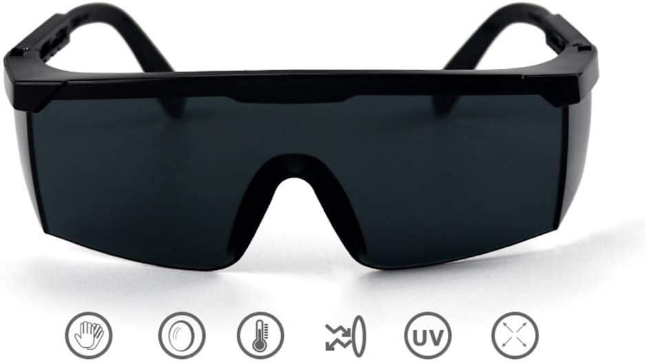 LAIABOR Gafas de Soldadura Policarbonato Gafas de Seguridad con Lente Resistente al Impacto para Construcción Laboratorio Protección Ocular al Aire Libre