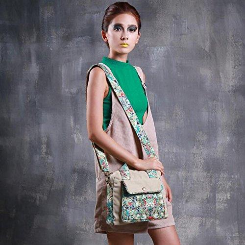 colibríes blue diseño de bolsa con Retro Vintage de de de impresión Win8Fong viaje bandolera bandolera flores 10 con lona de lienzo y para estampado de de bolso Mujer bolsa qacnRwfz