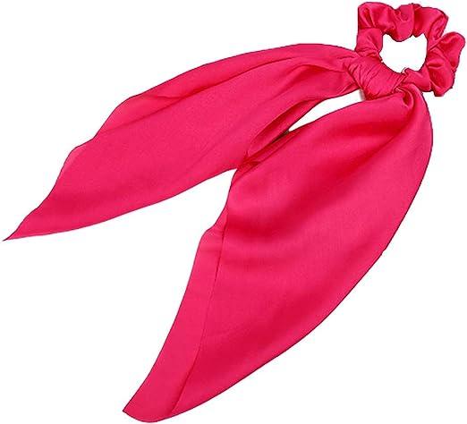 Tinaa - Corbata para Cabello, coletero con Lazo de Tela para Mujer ...