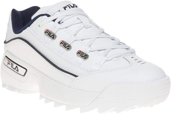Fila Hometown Extra Hombre Zapatillas Blanco: Amazon.es ...