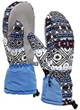 ANDORRA Womens Bohemian Waterproof Thinsulate Lined snowboard Mittens,Style4,M/L