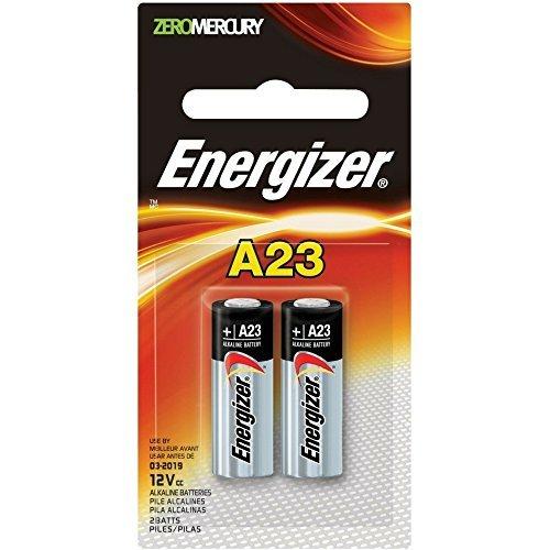 Energizer Zero Mercury Alkaline Batteries A23 2 ea (6 pack)