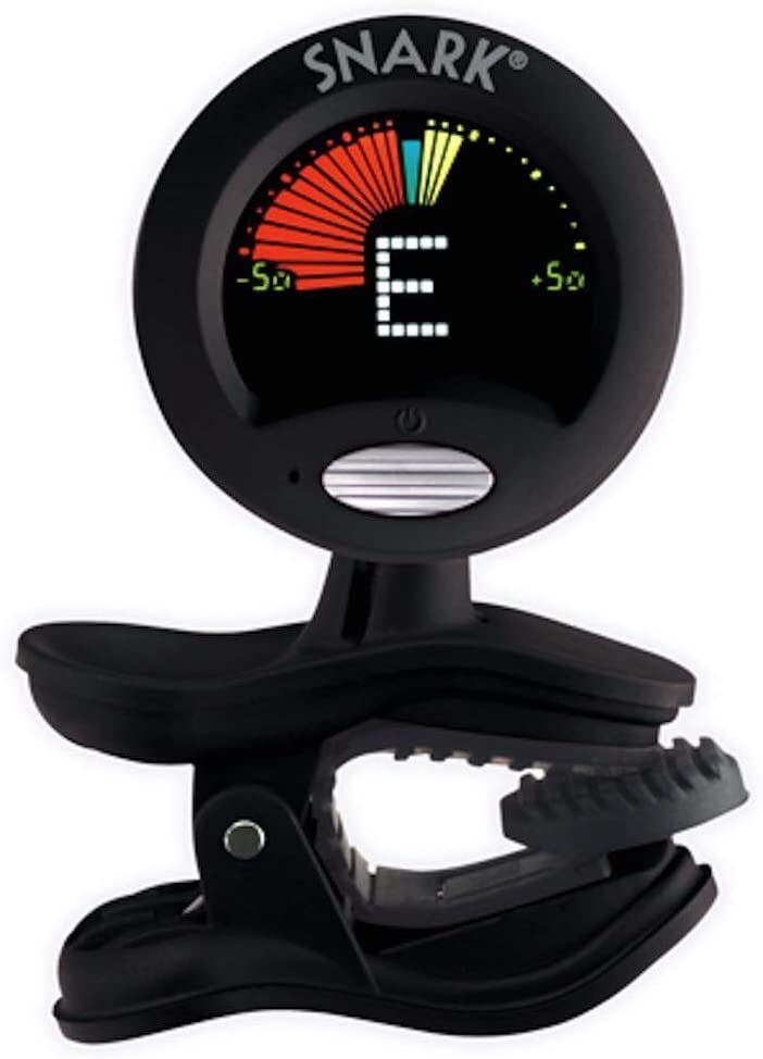 Snark SN5X Clip-On Tuner for Guitar, Bass & Violin (Current Model)